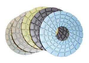 Toolocity CPP05SET 5-Inch Con-Shine DryWet Diamond Polishing Pad for Concrete Set of 5