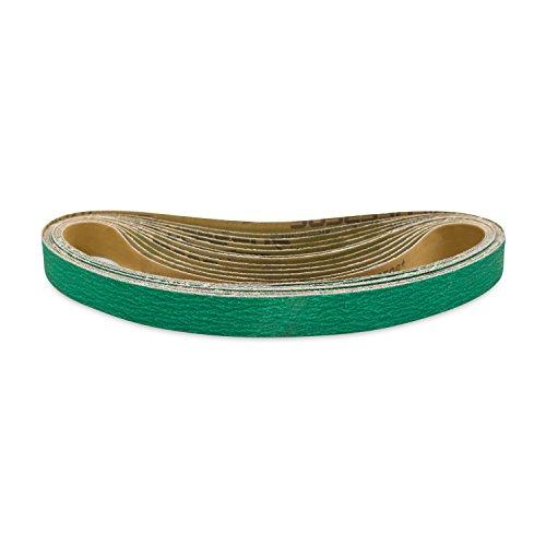 Red Label Abrasives 1 X 42 Inch 60 Grit Metal Grinding Zirconia Sanding Belts 12 Pack