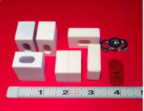 Rikon 18″ Guide Blocks and Thrust Bearings Set