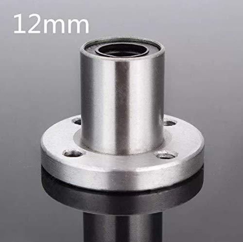 Atfipan LMF12UU 12mm Flange Linear Ball Bearing Motion Bushing Bearing