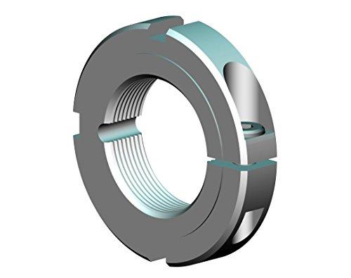 Whittet-Higgins CNC22-6 Threaded Clampnut  Shaft Bearing Locknut Collar UNC 1375-6 Right-Hand Thread Self-Locking replaces Climax ISTC-137-06 TC-137-06