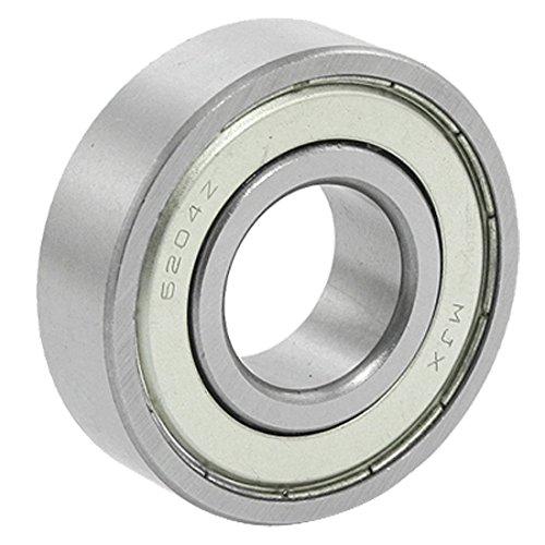 6204Z Ball Bearing - TOOGOOR 20x47x14mm 6204Z Double Metal Shielded Wheel Axle Ball Bearing