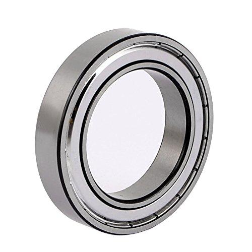 uxcell ZZ6908 62mmx40mmx12mm Single Row Deep Groove Shielded Ball Bearing