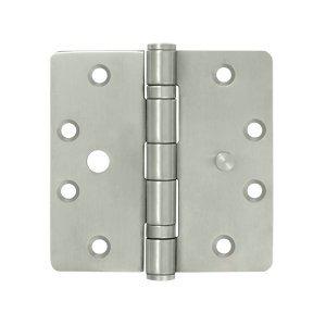 45 in x 45 in Stainless Steel Hinge w Security Tab - Pair