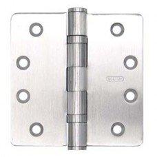 4 Inch x 4 Inch x 30mm 14 Radius Heavy Duty 2 Ball Bearing Stainless Steel Hinge