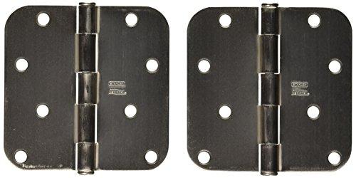 National Hardware 512R58 4 Door Hinge in Satin Nickel