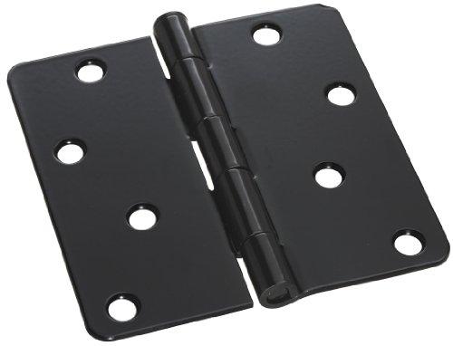Stanley National Hardware V8031 4 Door Hinge in Black
