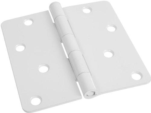 Stanley National Hardware V8031 4 Door Hinge in White