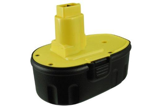 Battery2go Rechargeable Battery 1500mAh For Dewalt DC608K DC212KZ DC390B DC390KB