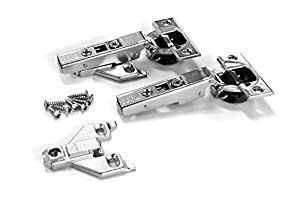 Blum CLIP top BLUMOTION Soft-Close Hinges 110 degree Self closing Face Frame with Mounting Plates Full - Overlay - 8 pack