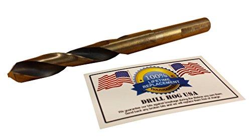 Drill Hog USA 58 Drill Bit 58 Silver Deming Bit HI-Molybdenum M7