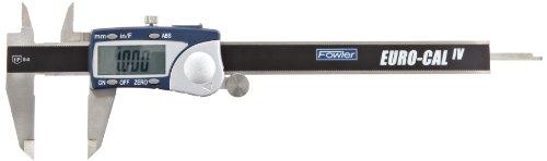 Fowler Full Warranty Stainless Steel Frame Euro-Cal IV Electronic Caliper 54-100-330-1 6 Maximum Measurement