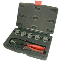 7 PIece Professional Quick Change Ratcheting Crimping Tool Set Tools Equipment Hand Tools