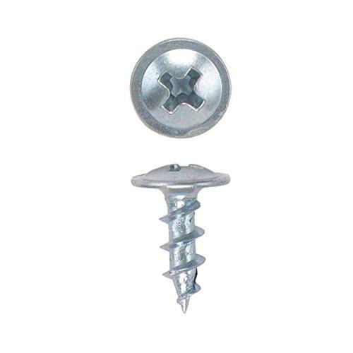 8 x 716 HighPoint Ball Bearing Slide Screws Round Washer Head Zinc 100 pc