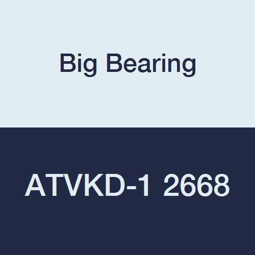 Big Bearing ATVKD-1 2668 Arctic Cat 500 4x4 ATV Front Differential Bearing Kit Used with Arctic Cat 500 4x4 ATV Front Differential 1998 1999 2000 MetalRubber