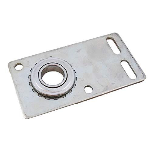 Garage Door Flat End Bearing Plate 8 Gauge