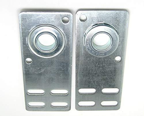 Garage Door Flat End Bearing Plates 4 38 Pair
