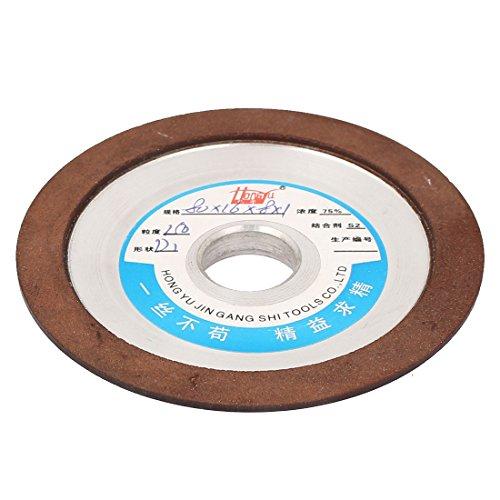 uxcell 80mm x 16mm x 8mm x 1mm 150 Grit Diamond Cutter Grinder Grinding Wheel Cup Disc