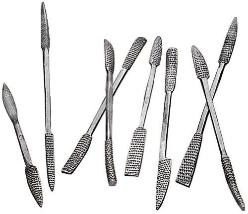 Woodtek 864661 Hand Tools Scraping Shaping 8 Pc Coarse Riffler Set