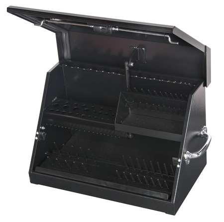 22-12W SteelBlack Portable Tool BoxPowder Coated14-12H