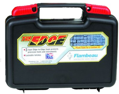 Flambeau 6510TR Tradesman EDGE Portable Tool Box Storage Case 10-Inch