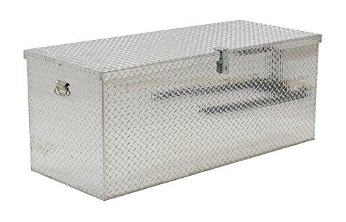Vestil APTS-2460 Aluminum Tread Plate Portable Tool Box 2500 lb Capacity Padlock Shackle diameter 716