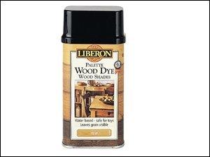 Liberon WDPW250 250ml Palette Wood Dye - Walnut DIY Tools