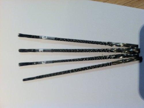 4 Dozen New Spiral Flying Dutchman Scroll Saw Blades Intro Pack