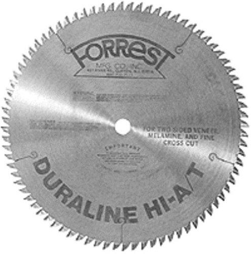Forrest DH12807145 Duraline HI-AT 12-Inch 80 Tooth 1-Inch Arbor 145-Inch Kerf Melimine Plywood Cutting Circular Saw Blade