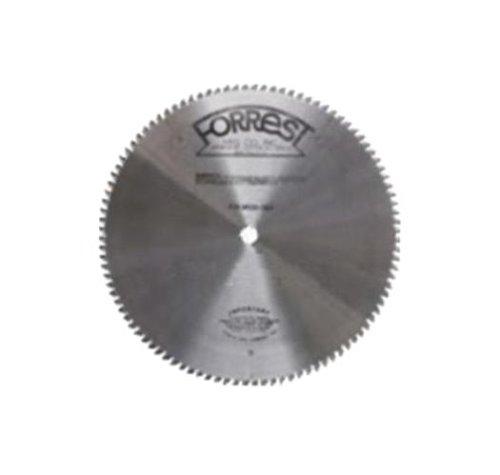 Forrest NM128011145 No Melt 12-Inch 80 Tooth 1-Inch Arbor 964-Inch Kerf Plastic Cutting Circular Saw Blade