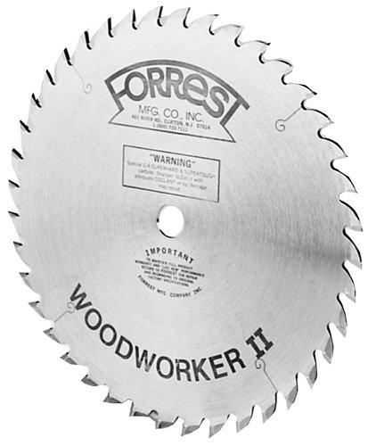 Forrest WW06407100 Woodworker II  6-Inch 40 Tooth 58-Inch Arbor 332-Inch Kerf Circular Saw Blade