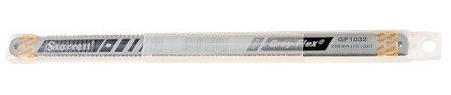 Starrett KGF1032-10 High Carbon Steel Grey Flex Hand Hacksaw Blade 0025 Thick 32 TPI 10 Length x 12 Width Pack of 10