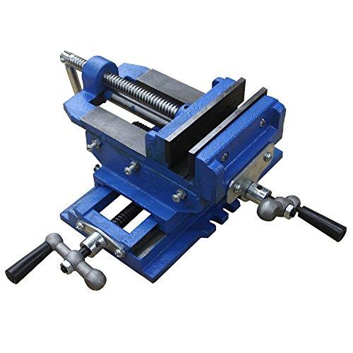 HFS Tm 3 Cross Slide Vise Drill Press Metal Milling 2 Way X-Y Heavy Duty Clamp Machine
