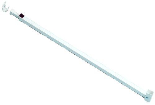 Ideal Security SK110W Patio Adjustable Door Security Bar White
