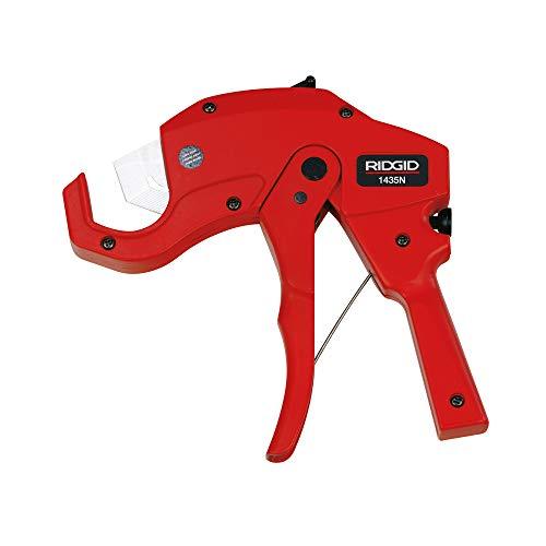 RIDGID 26821 Model 1435N Ratchet Cutter for Plastic Pipe 6-35 mm OD Capacity