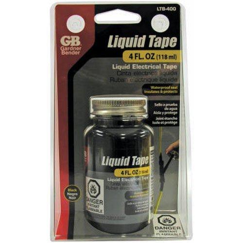 Gardner Bender LTB-400 Liquid Electrical Tape Black 2-Pack
