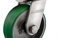 Albion-95PY10709STRL-10-0-Diameter-95-Series-Trl-Super-Swivel-Caster-Polyurethane-on-Cast-Iron-Wheel-Tapered-Roller-Bearing-4-Tread-8-1-2-L-x-8-1-2-W-Plate-4200-lb-Capacity-25.jpg