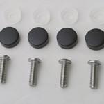 Stainless-Steel-License-Plate-Frame-Machine-Screws-Fasteners-4x-M6x20-Screws-Black-Screw-Covers-18.jpg